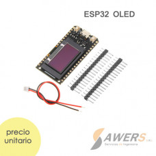 ESP32 V2.0 OLED WiFi + Bluetooth 0.96 Inch