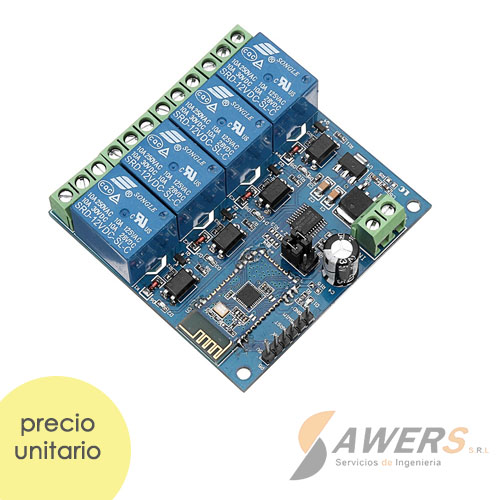 Bluetooth Relay 12V 4CH