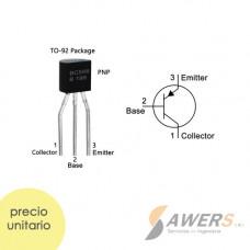 BC556 Transistor PNP-65V -100mA 100Mhz 800hFe