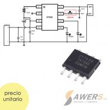 SY7636 SMD Carga y Descarga bateria li-ion