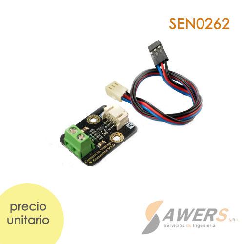 Gravity conversor de 4-20mA a 0-3V SEN0262