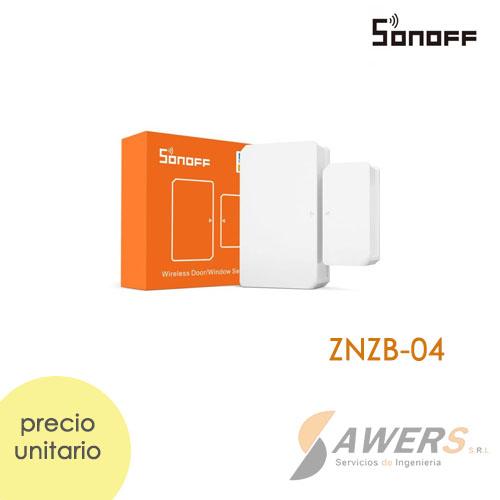 Sonoff SNZB-04  Sensor de puerta/ventana ZigBee 80Mts