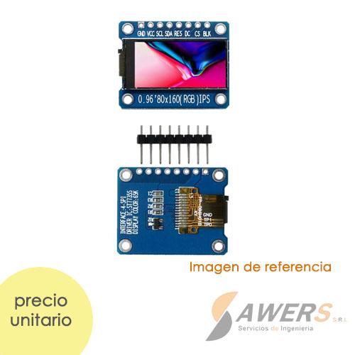 Pantalla LCD TFT 80x160 0.96inch SPI