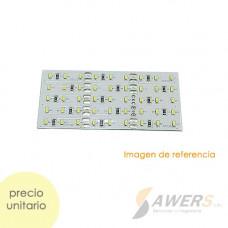 Led PCB 9x5 Blanco de alto brillo 12V