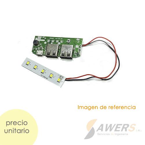 Modulo PowerBank Dual con lampara