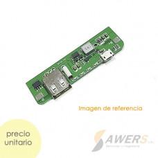 Modulo de Carga PowerBank Li-ion 3.6V a 5V-2A 18650 V2