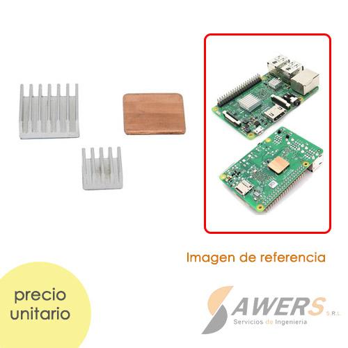 Disipador de Calor Para Raspberry Pi 3 B (mas)