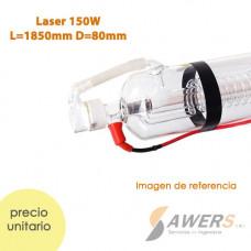 Tubo Laser CO2 150W L=1850mm D=80m