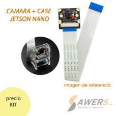 Nvidia Jetson Camara IMX219-120 + Case acrilico