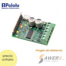 USB Controlador de Motor Stepper 50V-4A Tic 36v4