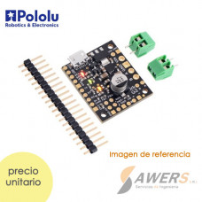 USB Controlador de Motor Brushed con feedback 28V-2.6A Jrk G2 21v3