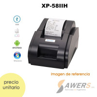 Impresora Termica 58mm de Recibos Xprinter XP-58IIH (BLUETOOTH)