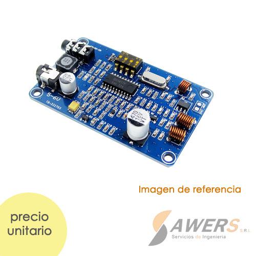 Transmisor FM Stereo 0.5W 200mts BH1417