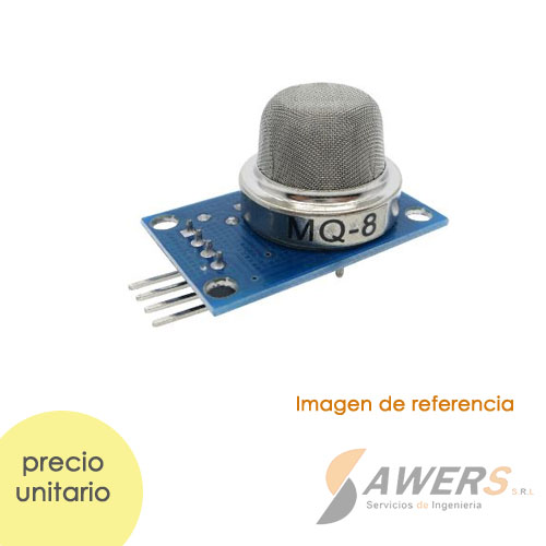 MQ-8 Modulo Sensor de Gas Hidrogeno