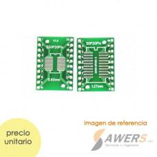 Zocalo PCB DIP20 a SSOP20/SOP20