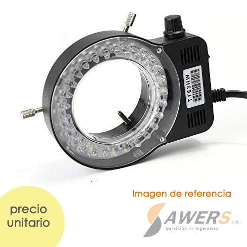Lampara de Microscopio 10W 220V (Anillo-56 LED)