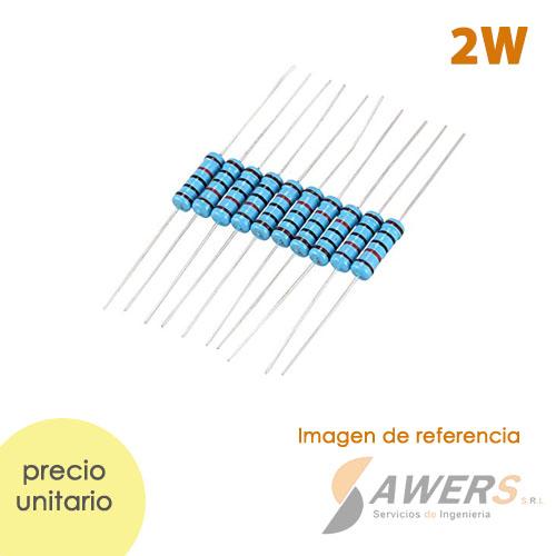 Resistencias Axial 2W 1%