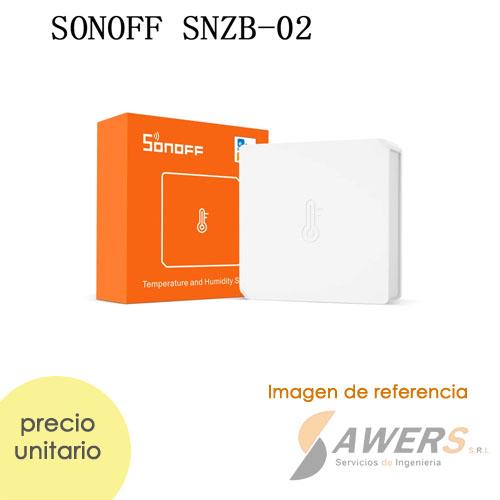 SONOFF SNZB-02 Sensor de temperatura y humedad ZigBee