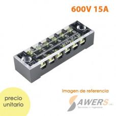TB-1506 Bloque Terminal 600V 15A 6P