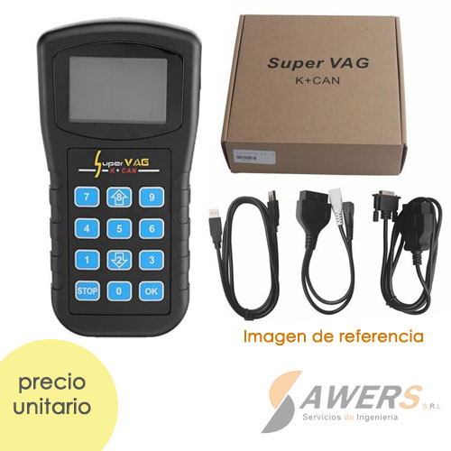 Escanner de Diagnostico OBD2 VAG K+CAN V4.8