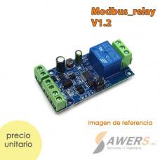 Modulo Relay Modbus-RTU RS485/TTL 1CH 12V