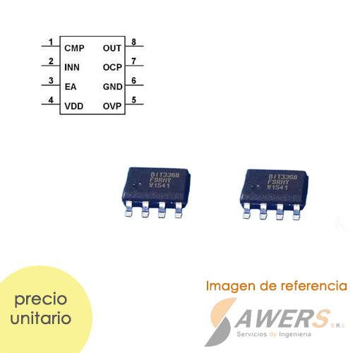 Tacometro Digital 5bit 15-100Khz Sensor Hall SC5135HR
