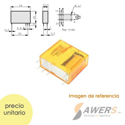 Relay Finder SPDT 24VAC  250V-10A