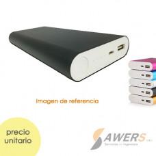 Case PowerBank Aluminio USB Dual 18650 (pilas no incluidas)