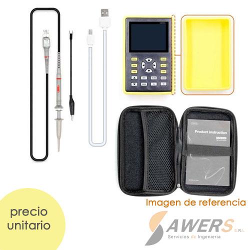 Osciloscopio Digital Portatil 1CH 110MHz FNIRSI-1C15