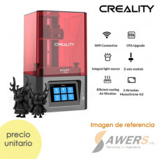 Impresora 3D Creality HALOT-ONE Resina 127x80x160mm