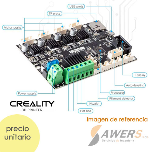 Creality Silent Mainboard V4.2.7  Controlador Impresora 3D 32bit