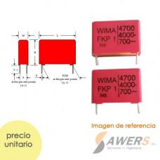 Capacitor Polipropileno Wima 4.7nF 4kV