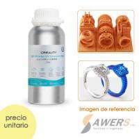 Resina Castable UV 405nm Creality para Joyeria 500ml