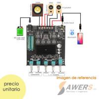 ZK-TB21 TPA3116D2 Subwoofer 2.1x100W Bluetooth 5.0